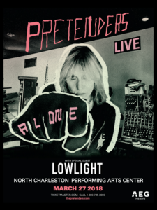 Pretenders Live with Special Guest Lowlight