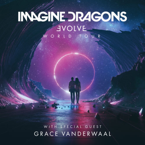 Imagine Evolve wsg Grace VanDerWaal Tour Art
