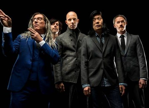 A Perfect Circle band photo by Tim Cadiente