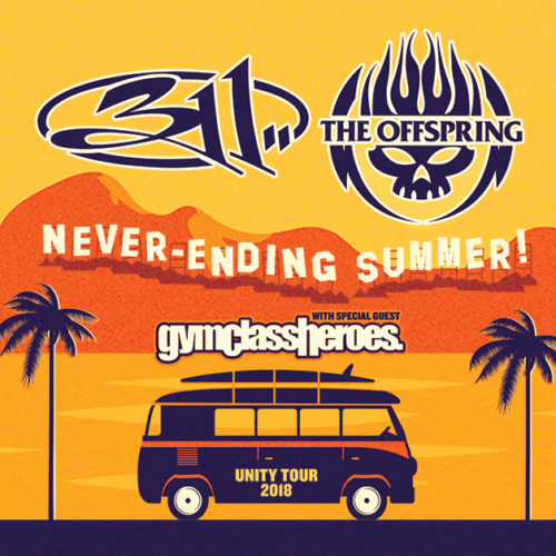 311 and The Offspring Never-ending Summer Tour