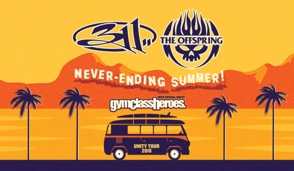 Tour Announcement: 311 and The Offspring Co-Headline Summer 2018 Tour