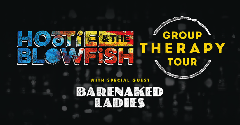 Hootie and the Blowfish Group Therapy Tour banner